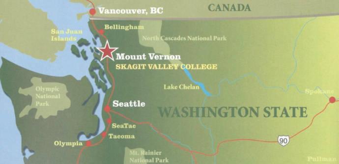 Skagit Valley College Map