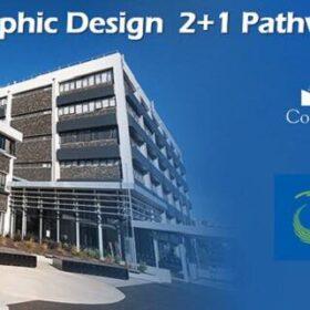 หลักสูตรปริญญาตรี เรียน Graphic Design อเมริกา + นิวซีแลนด์ 3 ปี จบ