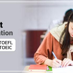 เรียนภาษาอังกฤษออนไลน์ Test Preparation
